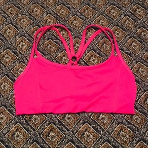 Hot pink Sports bra